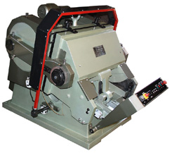 HEAVY DUTY DIE PUNCHING & CREASING PLATEN MACHINE