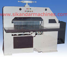 Semi Automatic Paper Cutting Machine India