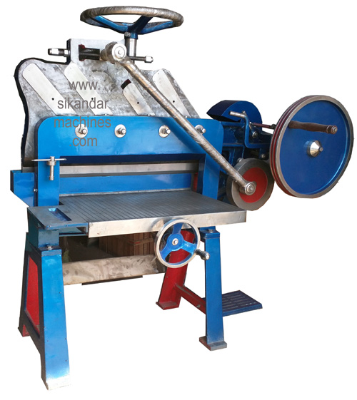 Simple Paper Cutting Machine Guillotine Cutter