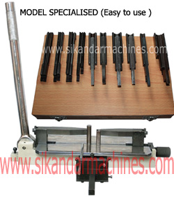 Steel Rule Bending MODEL SPECIALISED Easy to use CLICK FOR BIG IMAGE
